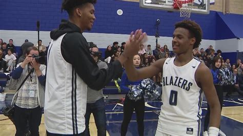 sons  basketball superstars bring  sold  crowd