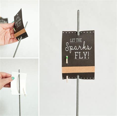 adorable wedding sparkler tags sign