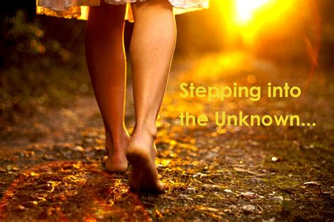 Step Into The Unknown  Michelle Cross