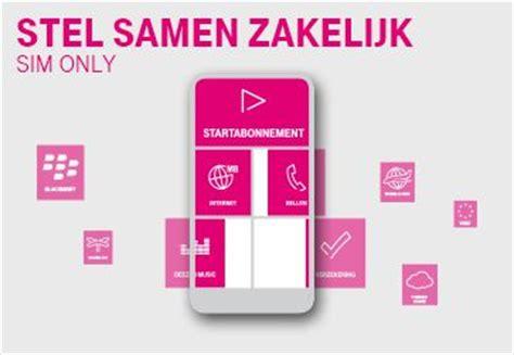 zakelijk sim  abonnement  mobile zakelijk