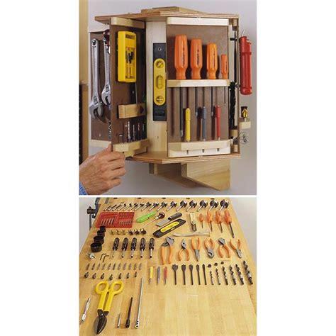 tool carousel woodworking plan  wood magazine