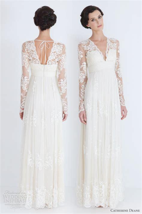 wedding dress sleeves lace catherine deane wedding dresses 2012 wedding inspirasi