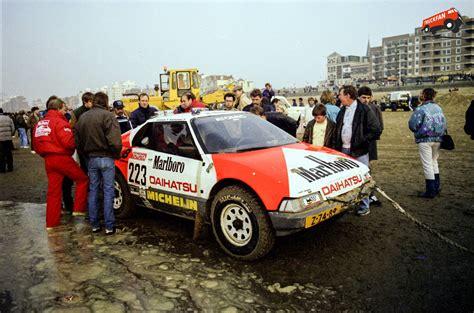Daihatsu Rocky Engine by Daihatsu Toyota Engine Prototype Dakar 1986 Deel 1