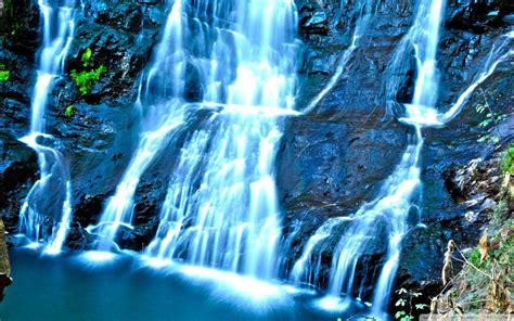 Misty Waterfall Wallpaper 2560x1600