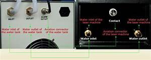 Cw 80w Laser Engraving Machine  Ac1p 220v