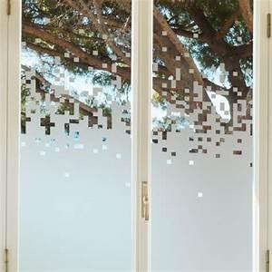 Adhesif Occultant Pour Fenetre Pas Cher : sticker occultant pour vitre et fen tre pixels ~ Edinachiropracticcenter.com Idées de Décoration