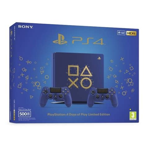 sony ps slim gaming console gb days  play limited