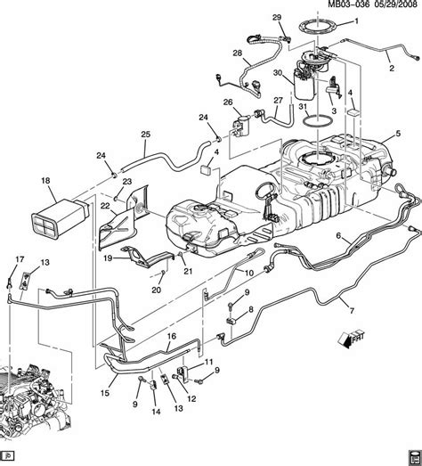 Buick Rendezvous Gas Tank Parts Diagram Auto