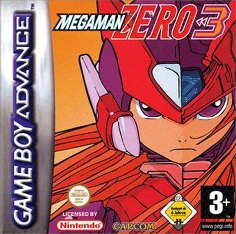 Game Mega Man Zero 3 Game Boy Advance 2004 Capcom