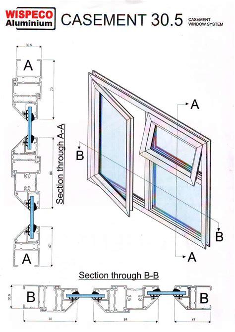 Technische Zeichnung Fenster by Casement Windows 305 Spec Page Technical Drawings