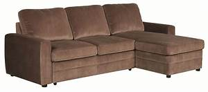 gus brown microfiber pull out sleeper sectional sofa ebay With gus sectional sleeper sofa