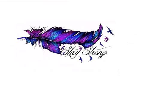 My Feather Tattoo Design