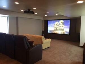 Basement home theater plans high back rest leather for Corner home theater furniture
