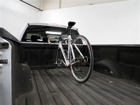 bed bike rack rockymounts loball locking truck bed bike carrier fork
