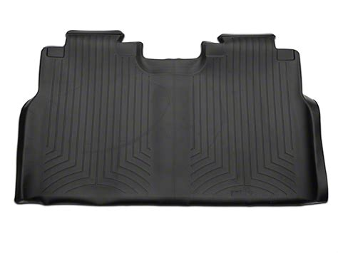 Weathertech Floor Mats F150 Supercrew by Weathertech F 150 Digitalfit Rear Floor Liner Black