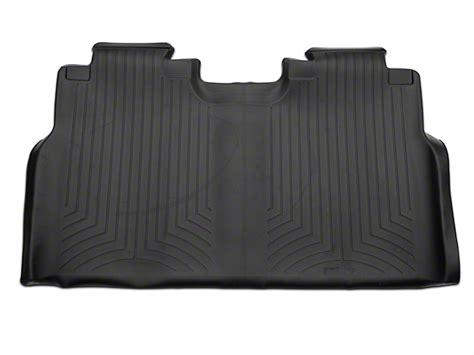 weathertech floor mats f150 supercrew weathertech f 150 digitalfit rear floor liner black