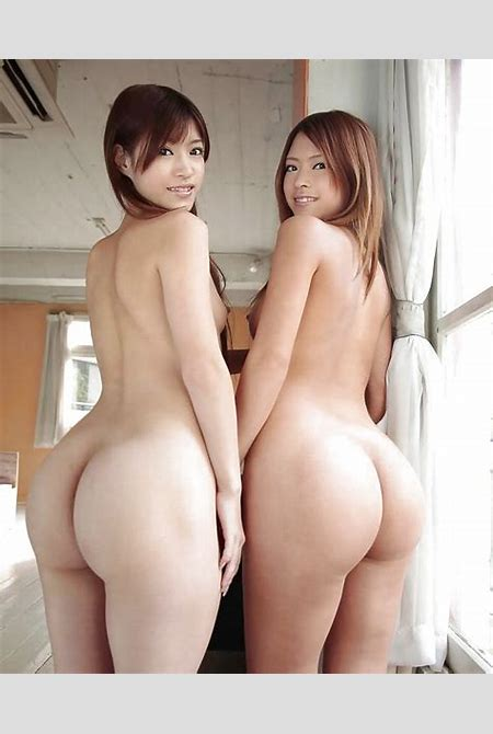 Сладкие азиатские девушки с непомерно большими задницами