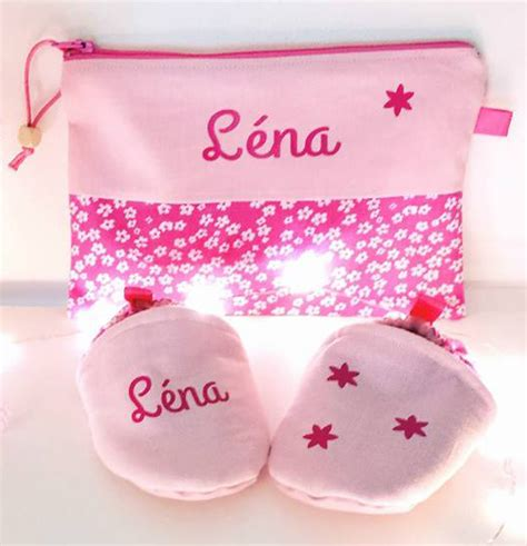 cadeau naissance fille cadeau naissance fille coffret personnalis 233 chaussons