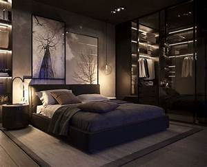 10, Extraordinary, Masculine, Black, Bedroom, Ideas, For, Men, U0026, 39, S