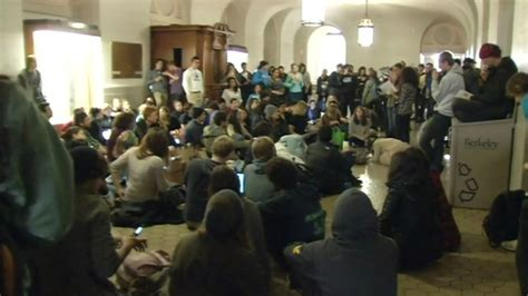 uc berkeley students continue protest  tuition hikes