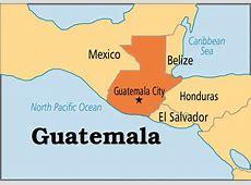 Map of guatemala TravelQuazCom
