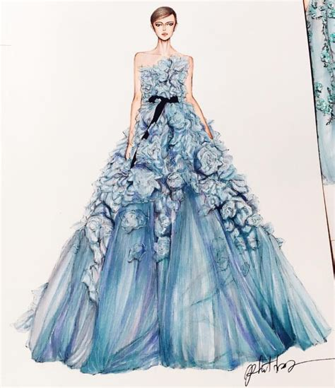Fashion Design Dresses by Best 20 Fashion Illustration Dresses Ideas On