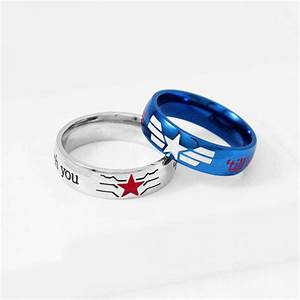 Stucky ring winter soldier captain america stainless steel for Captain america wedding ring