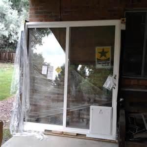 install patio door diy install patio door in brick or