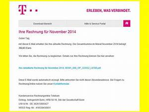 Telekom Rechnung Nicht Bezahlt Was Passiert : wieder gef lschte telefon rechnungen in umlauf ~ Themetempest.com Abrechnung