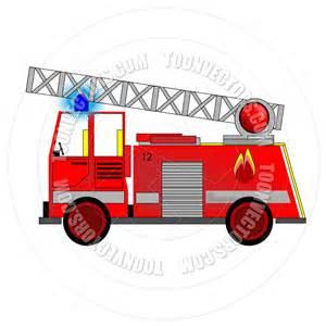 Cartoon Fire Truck Clip Art