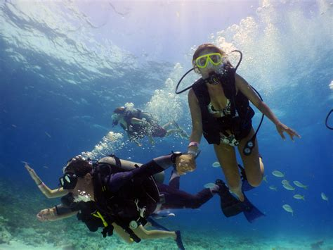 diving lessons in cancun