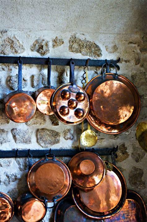 brass pans copper kitchen copper decor copper pots