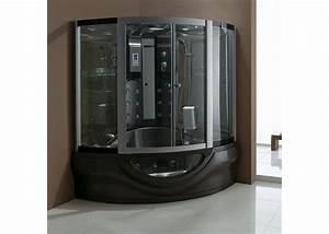 Baignoire Douche Balneo : cabine de douche baignoire hammam black tahiti cabine ~ Melissatoandfro.com Idées de Décoration