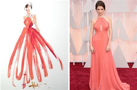 This Artist Painted Oscars Gowns Using Only Tips