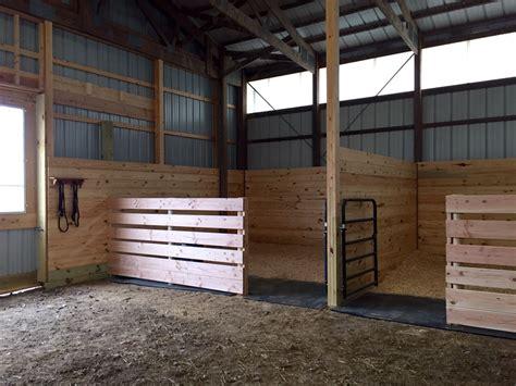Easy Inexpensive Horse Stalls …