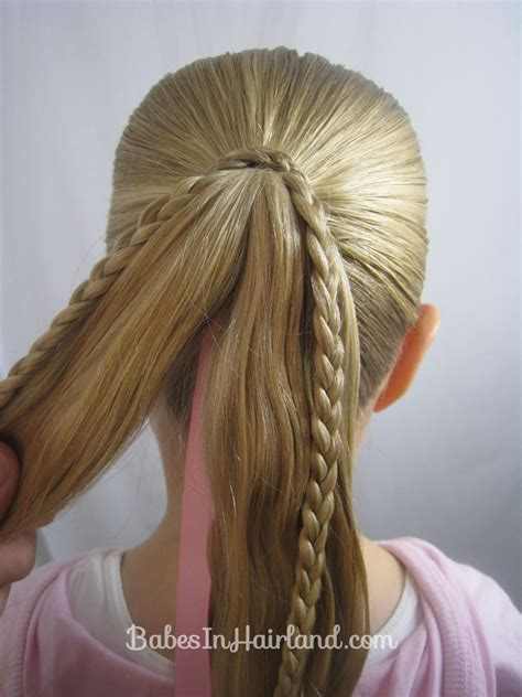 braids  ribbon hairstyle babes  hairland