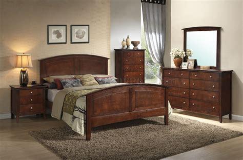 bedroom  dark oak  glory furniture woptions