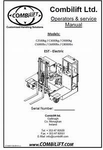 Combilift Forklift Parts And Service Manuals 2018