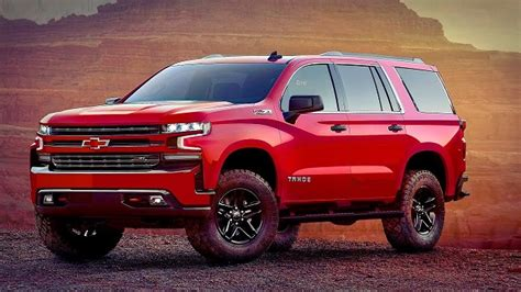 chevy tahoe redesign pictures release date