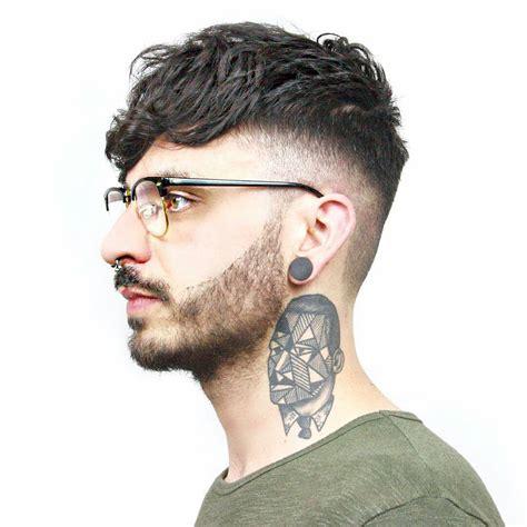 modern slicked  undercut hairstyles  men