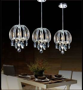 Modern pendant lamp crystal kitchen lighting