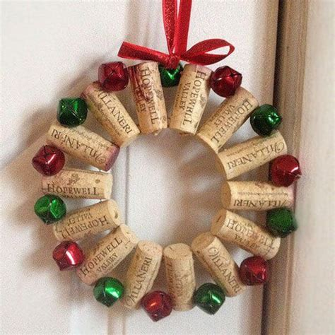 christmas cork idea images crafts made with wine corks upcycle