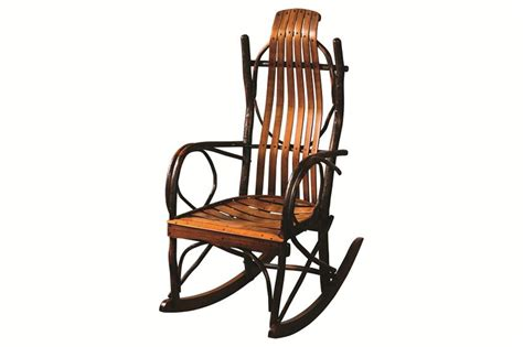 hickory big and rocking chair amish made porch rockers