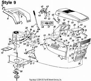 Mtd Ranch King Mdl 130 843243 Parts Diagram For