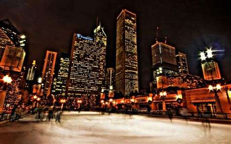 chicago ice skating hd wallpaper hd latest wallpapers