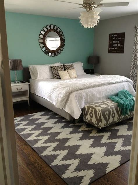 Grey And Teal Bedroom  Paint Colors  Pinterest Graphic