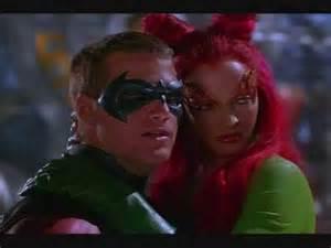 Batman and Robin Kiss Poison Ivy