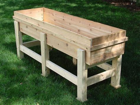 diy waist high planter box home design garden