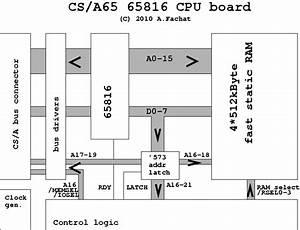 6502 Logic Diagram