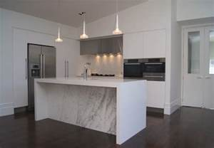 Allen Roth Cabinet by Marble And White Kitchen Contemporary Kitchen Other